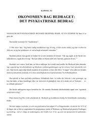 Kapitel 11: Økonomien bag bedraget - mmk.info