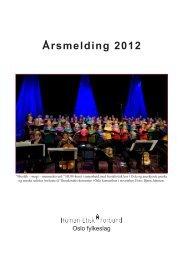 Årsmelding 2012 - Human-Etisk Forbund