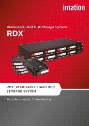 RDX® REMOVABLE HARD DISK STORAGE SYSTEM - Imation