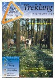 En tur i skoven til hest! - Tilbage