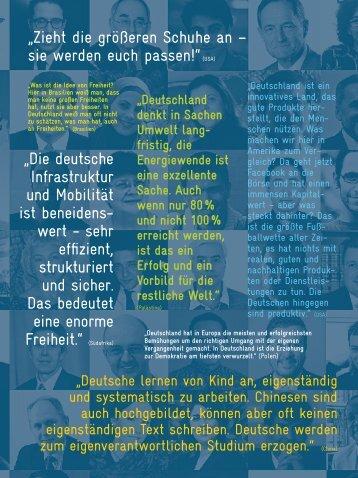 Akzente Deutschland in den Augen der Welt (3/2012) - GIZ