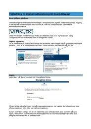 Vejledning om elektronisk indberetning i FDO (pdf.fil)