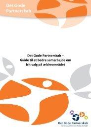 Guide til et bedre samarbejde om frit valg på ældreområdet