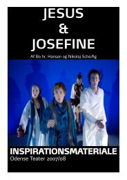 JESUS & JOSEFINE - Odense Teater