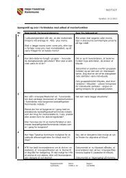 Spørgsmål og svar i forbindelse med udbud af mentorfunktion Nr ...