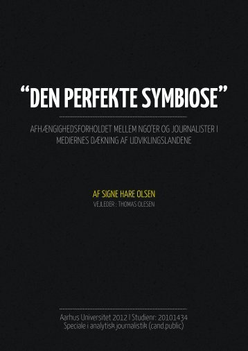 """DEN PERFEKTE SYMBIOSE"" - Kommunikationsforum"