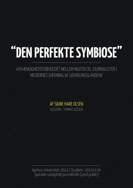 """DEN PERFEKTE SYMBIOSE"" - Kommunikationsforum"