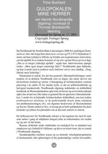 Trine Buchard - Forlaget Spring