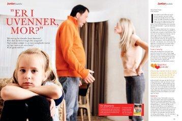 """Er I uvEnnEr, mor?"""" - Fie Hørby"""