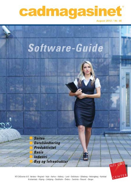 Download cadmagasinet 46 som PDF-fil her - NTI CADcenter