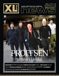 Senaste XL-News