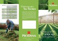 Plænegræs Vor Verden Græsplæne - pleje og vedligehold - Prodana