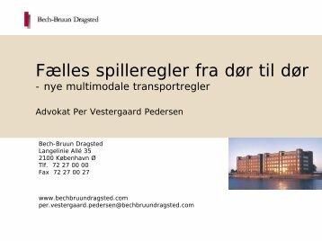 Per Vestergaard Pedersen, advokat, Bech-Bruun Dragsted