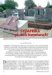 SYDAFRIKA - Nordisk Filateli