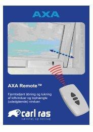 AXA Remote™ - Carl Ras
