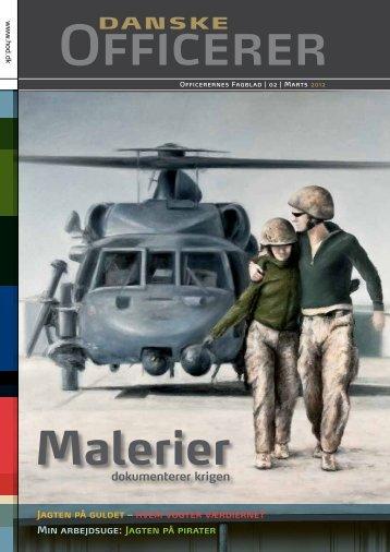 Malerier - Hovedorganisationen af Officerer i Danmark