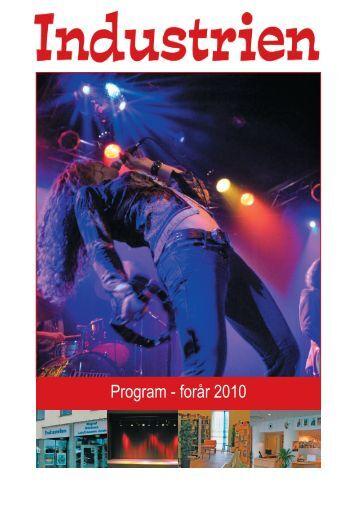 Det trykte program - Forår 2010 - Råstof til Industrien