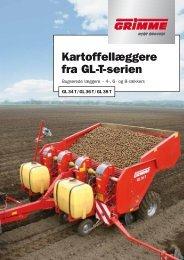 Kartoffellæggere fra GL-T-serien