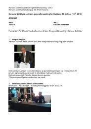 Referat Generalforsamling 2013 (0,68 MB) - Horsens Golfklub