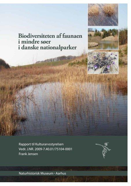 Rapport til Kulturarvsstyrelsen. 40 sider - Naturhistorisk Museum