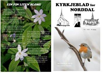 KYRKJEBLAD for NORDDAL - Storfjorden kyrkjelege fellesråd - Den ...