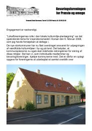 2008-4 - Bevaringsforeningen for Præstø og omegn
