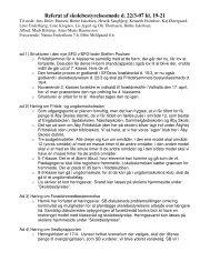 Referat af skolebestyrelsesmøde d. 22/3-07 kl. 19-21 - Åby Skole