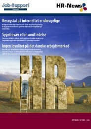 Nummer 7 - Job-Support Danmark