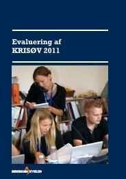Evaluering af KRISØV 2011 - Beredskabsstyrelsen