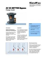 AV 23 SETTER Bypass AV 23 SETTER Bypass