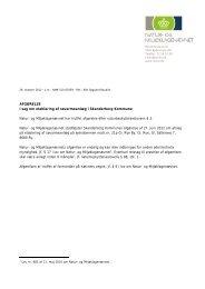 AFGØRELSE i sag om etablering af søvarmeanlæg i Skanderborg ...