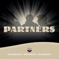 SPILLEREGLER • SPELREGLER • PELISäännöt - Danspil