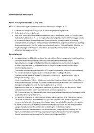 Referat af MR-mødet 27. maj 2010 - Odense Domkirke