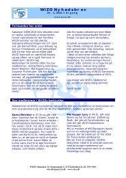 Nyhedsbrev nr. 2 2010 - Wizo i Danmark