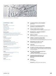 landskab 3 2012 - Danske Landskabsarkitekter