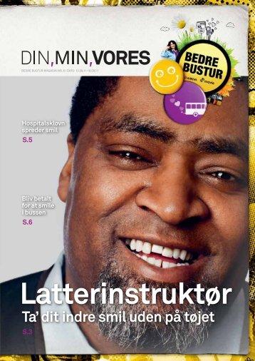 Ta' dit indre smil uden på tøjet - Bedrebustur.dk
