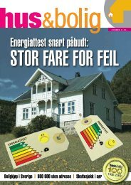 Hus-Bolig nr. 4-2009 Hele bladet.pdf - Huseiernes Landsforbund