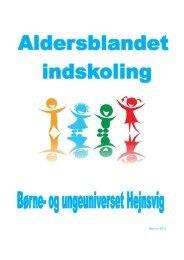 Informationsfolder til forældre - Hejnsvig Skole