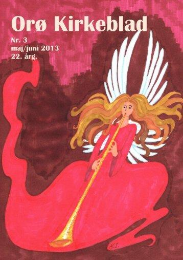 Nr. 3 maj/juni 2013 22. årg. - Orø Kirke