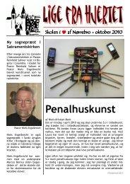 Penalhuskunst - Sankt Ansgars Skole