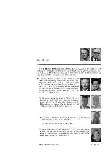 A3 B5 C5 A3 B5 C5 - Lauegaardsfamilien