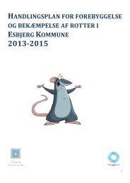 handlingsplan for forebyggelse og bekæmpelse af rotter i esbjerg ...
