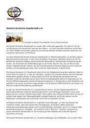 Deutsch-Kurdische Gesellschaft e.V. - EineWeltHaus