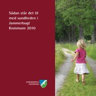 Sådan står det til med sundheden i Jammerbugt Kommune 2010