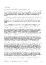 Artikel om heling og kirken