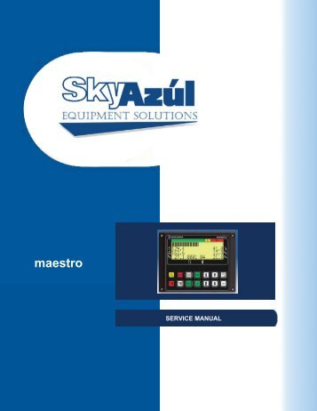 Maestro Installation and Service Manual download - SkyAzúl