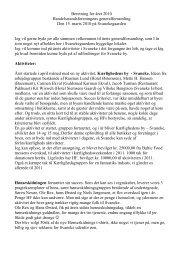 Beretning for året 2010 Handelsstandsforeningens ...