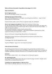 Referat af bestyrelsesmøde i Geografilærerforeningen 24/3 2011 ...