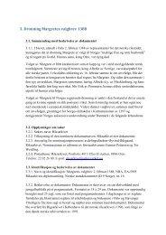 Nominasjon av Dronning Margretes valgbrev 1388