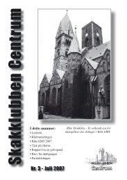 Klubblad nr. 3/2007 - Skakklubben Centrum